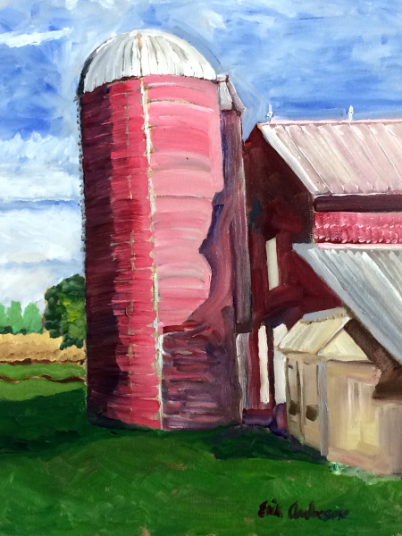 Mullberry Creek Silo - 2018 (sold)