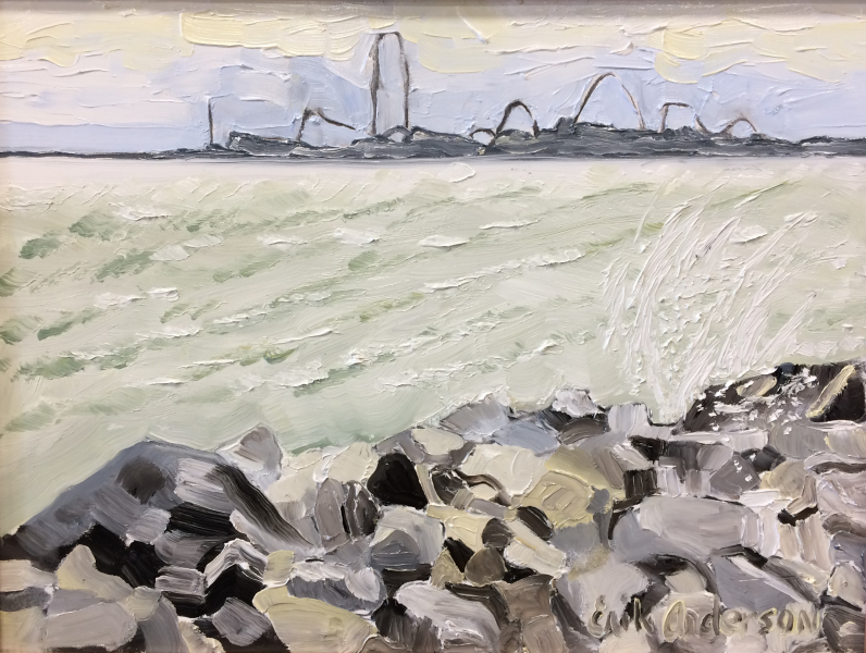 Cedar Point in the Distance - 2018 (sold)