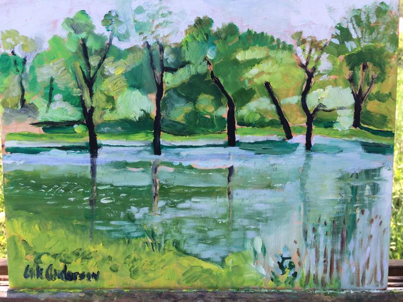 Great Egret Preserve - 2019 (sold)