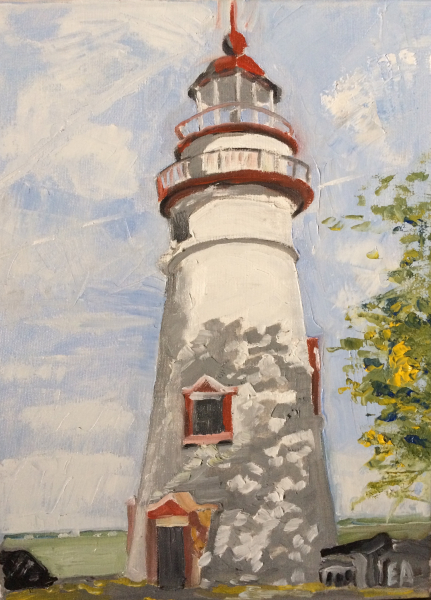 Marblehead Lighthouse - 2017 (sold)