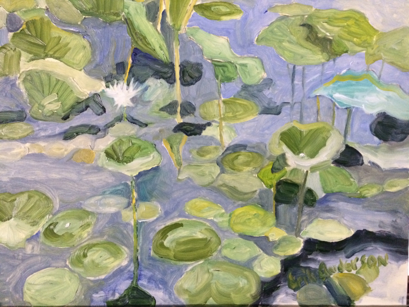 Water Lilies - 2018