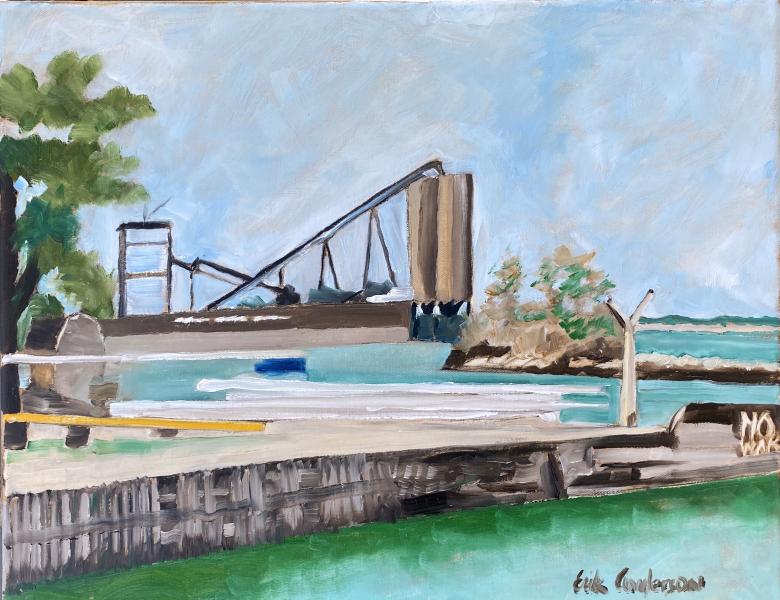 September Coal Docks from Dockside - 2020
