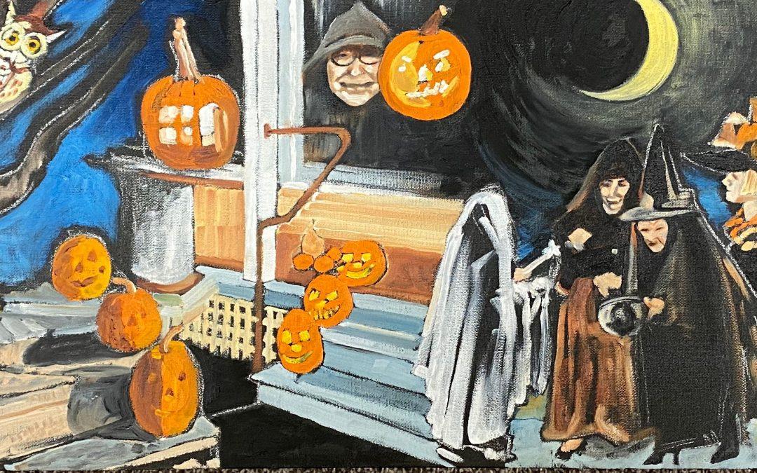 Trick or Treat & Happy Halloween!