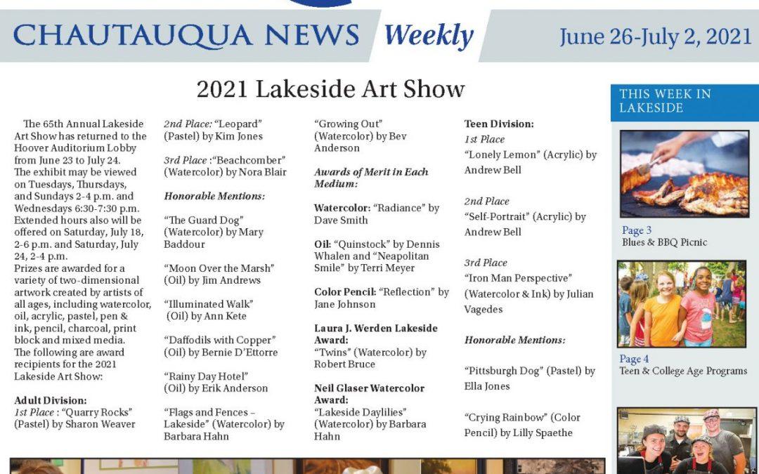 2021 Lakeside Art Show